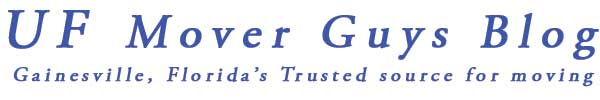 Gainesville Florida Moving Company, UF Mover Guys Launches Their New Blog