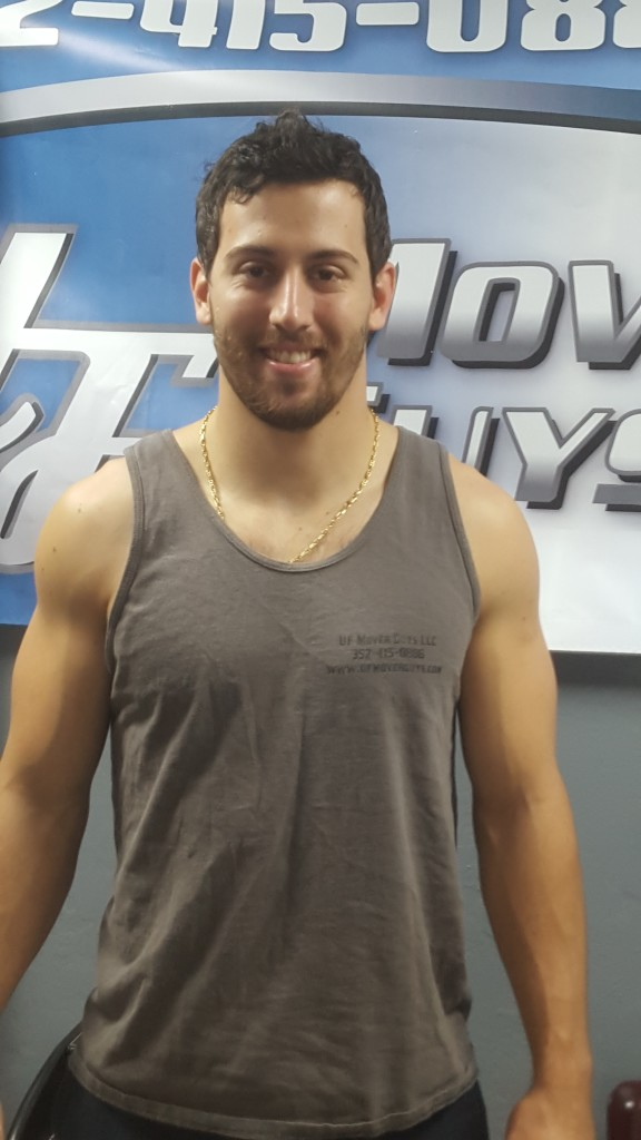 Meet Jake at UF Mover Guys in Gainesville, FL