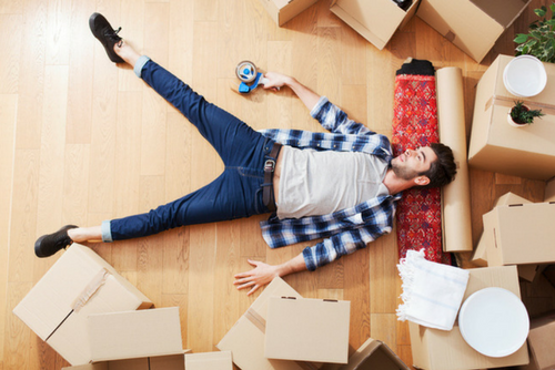 Managing stress during a move